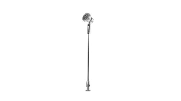3瓦大功率立桿式射燈_冷光源博物展柜射燈 H630