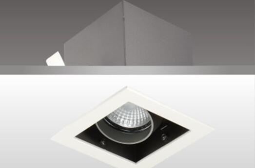 美术照明系列之天花射灯灯具HK62511_LUMINUS COB品牌