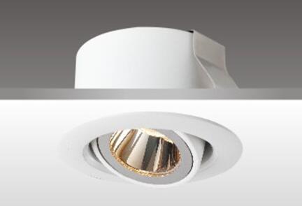 美術照明燈具_天花射燈HK61011_鋁材制成燈體
