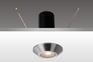画廊照明首选_柜内射灯K61001_弹簧线固定灯具