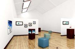 <b>龍美術館照明方案——利用光營造作品與空間</b>