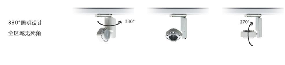H3111射灯——330°照明设计全区域无死角