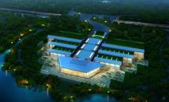长江文明馆---led轨道射灯工程案例