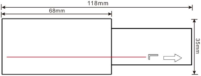 方形导轨电源接头尾(L)