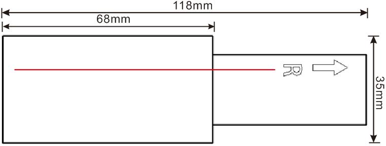 方形导轨电源接头尾(R)