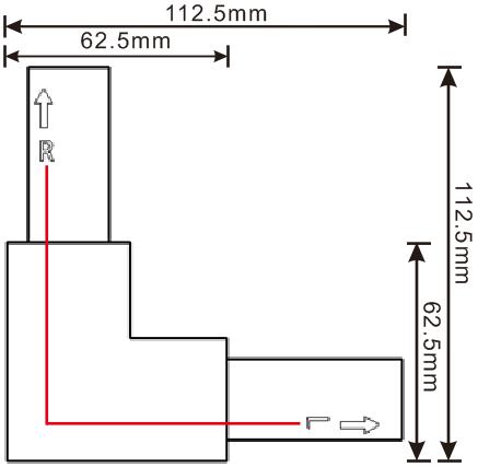 方型导轨L接(R)