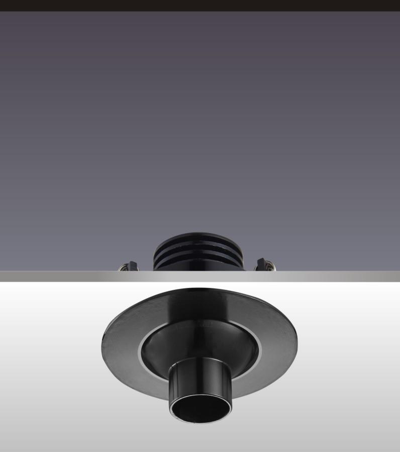 博物館柜內小射燈H4104燈具角度