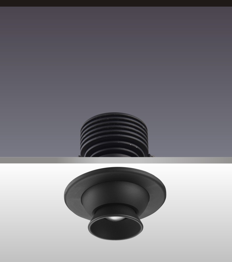 led柜小射燈H4105燈具角度
