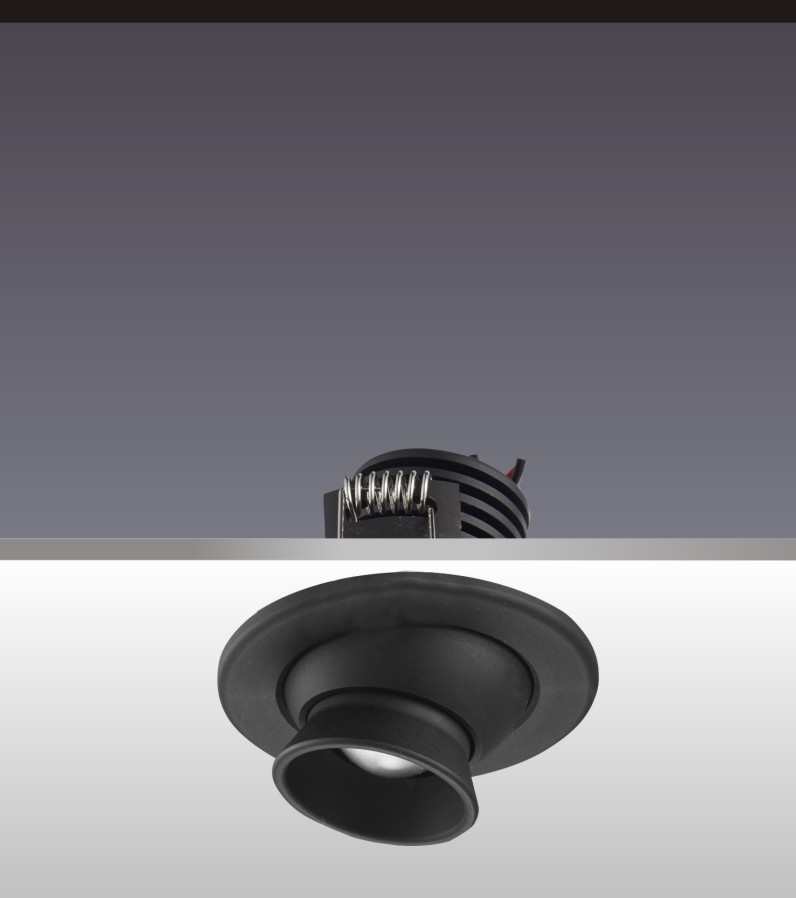 柜臺小射燈H4110硬件旋轉角度