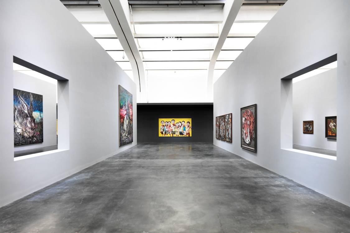 UCCA美術館照明方案_尤倫斯當代藝術中心
