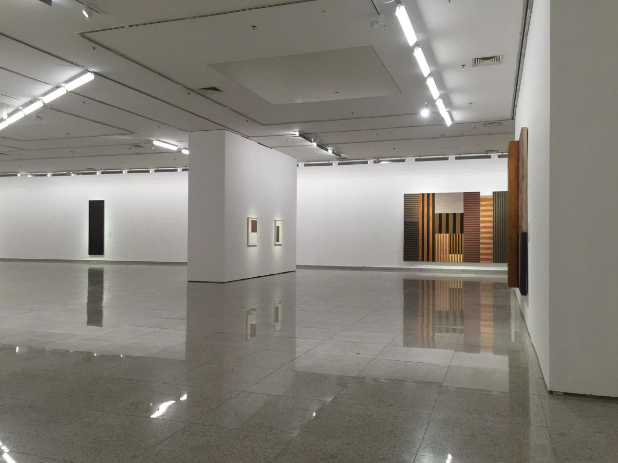 湖北美术馆照明_肖恩·斯库利抽象画巡展