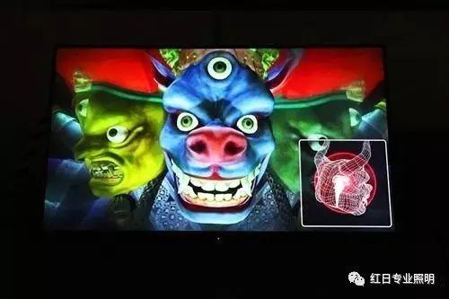 陸揚 《忿怒金剛核》 單屏幕錄像 2011