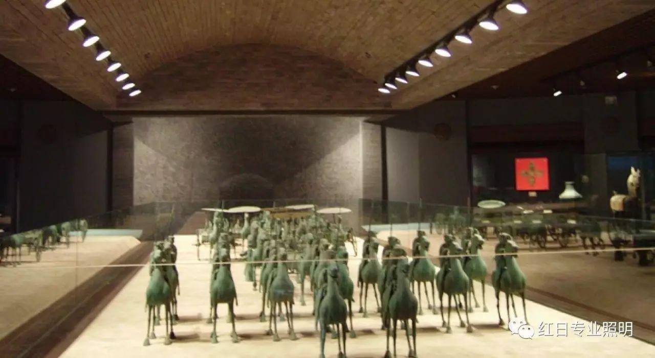 甘肃省博物馆照明:来自高显射灯的色彩还原感
