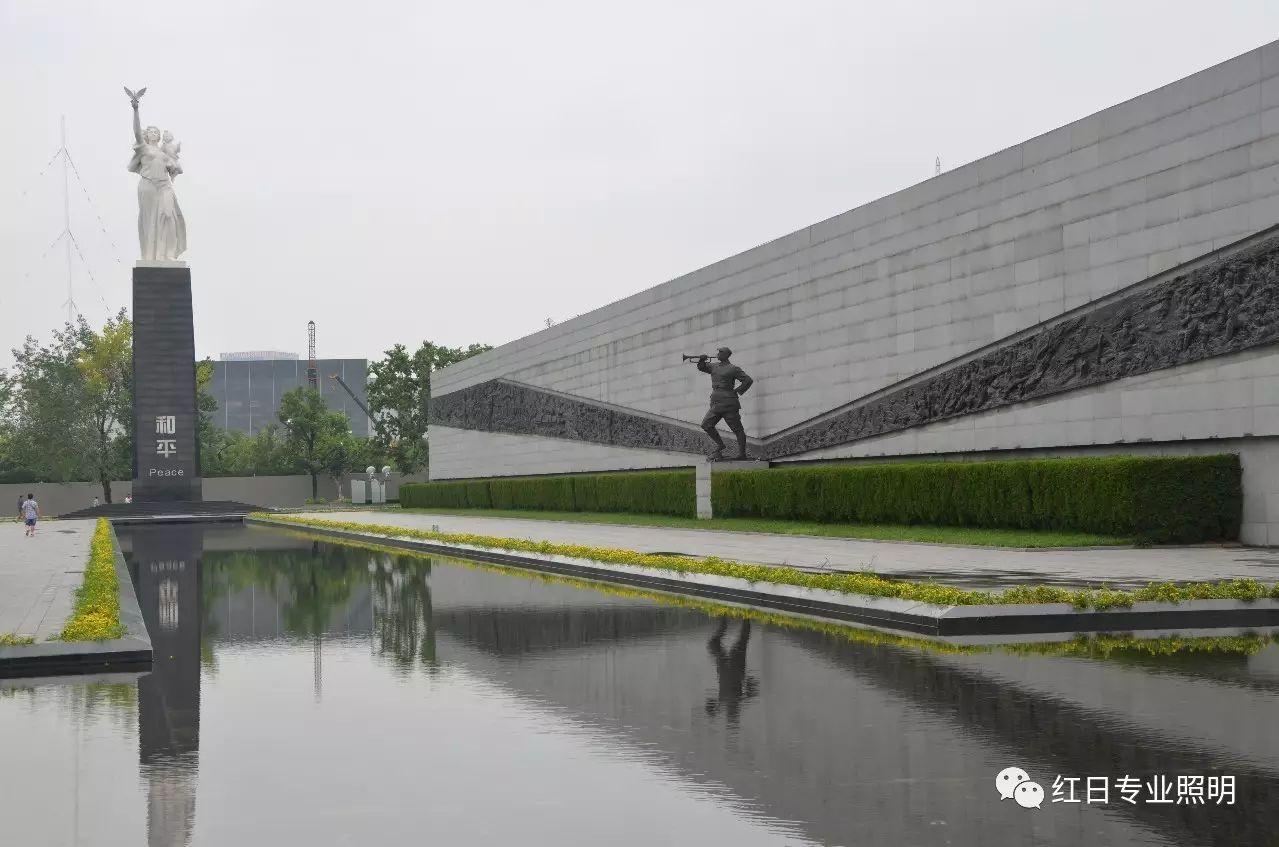 南京大屠杀纪念馆照明