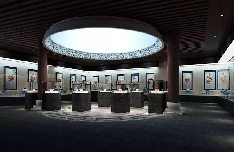 安徽績溪--陶瓷文物博物館專業燈光效果