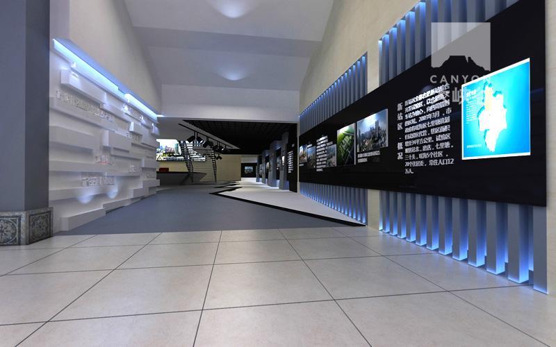 如何利用向光性进行展厅照明设计?