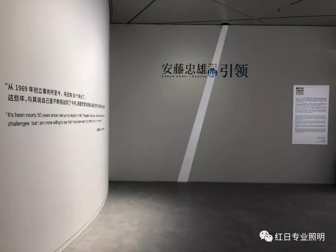 明珠美术馆照明方案_安藤忠雄大型回顾展