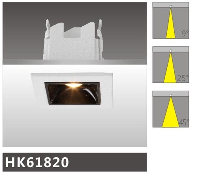 天花射燈HK61820燈具簡介