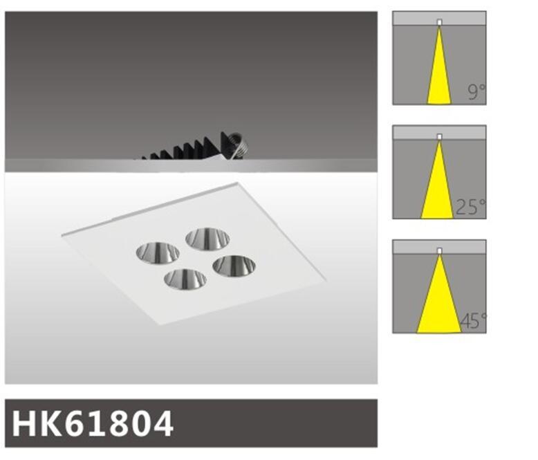 天花射燈HK61804燈具簡介