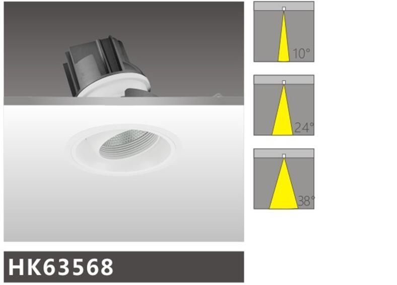 天花射燈HK63568燈具簡介
