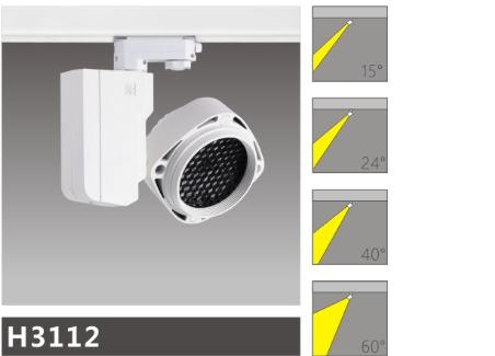 H3112led博物導軌燈具介紹