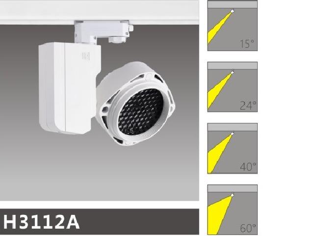 H3112Aled博物导轨灯具介绍