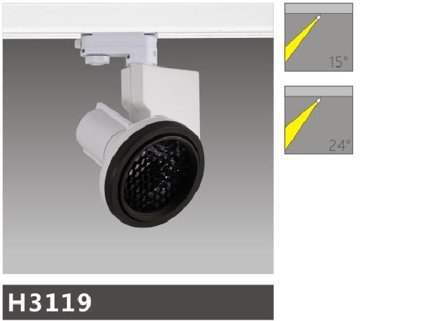 H3119led博物導軌燈具介紹