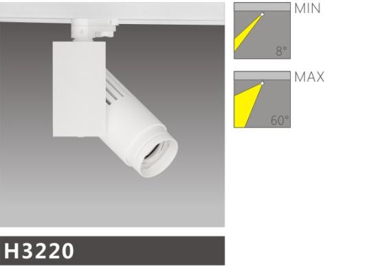 H3220led博物导轨灯具介绍