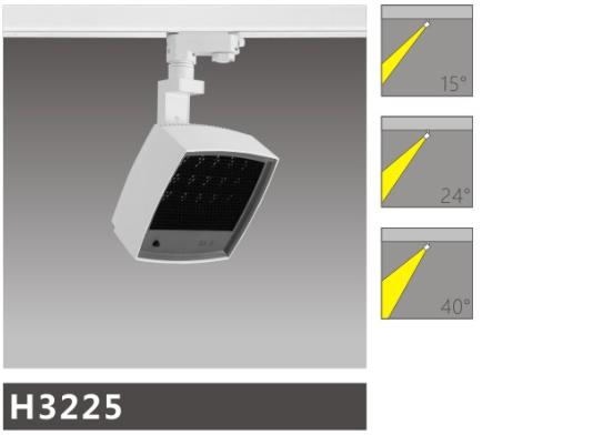 H3225led博物導軌燈具介紹