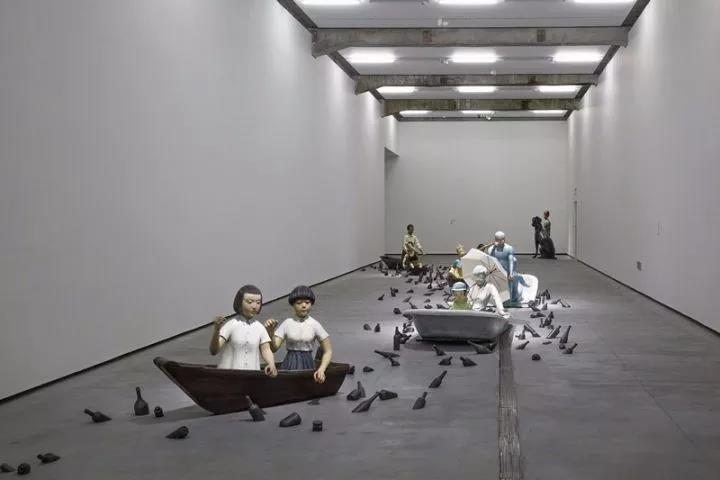 """""""向京?#20309;?#19981;安者得安宁+S""""展览现场光效"""