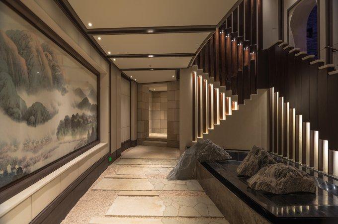 南京牛首山佛頂宮——藝術照明燈光烘托神圣意象