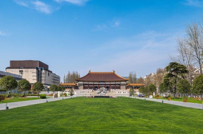 南京博物馆照明——灯光折射厚重文化底蕴