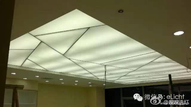背光灯箱式照明