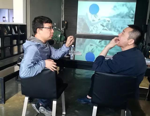 刘宏剑与收藏家乔志兵