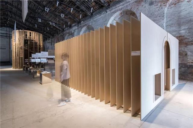 威尼斯建筑双年展中国馆现场  摄影:高长军