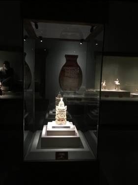 以青博工艺品展厅照明改造为例