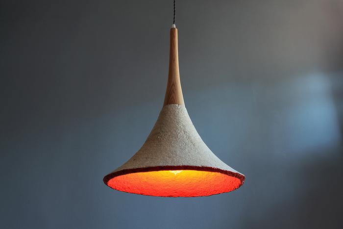 美術館照明創意——這盞燈其實是個蘑菇