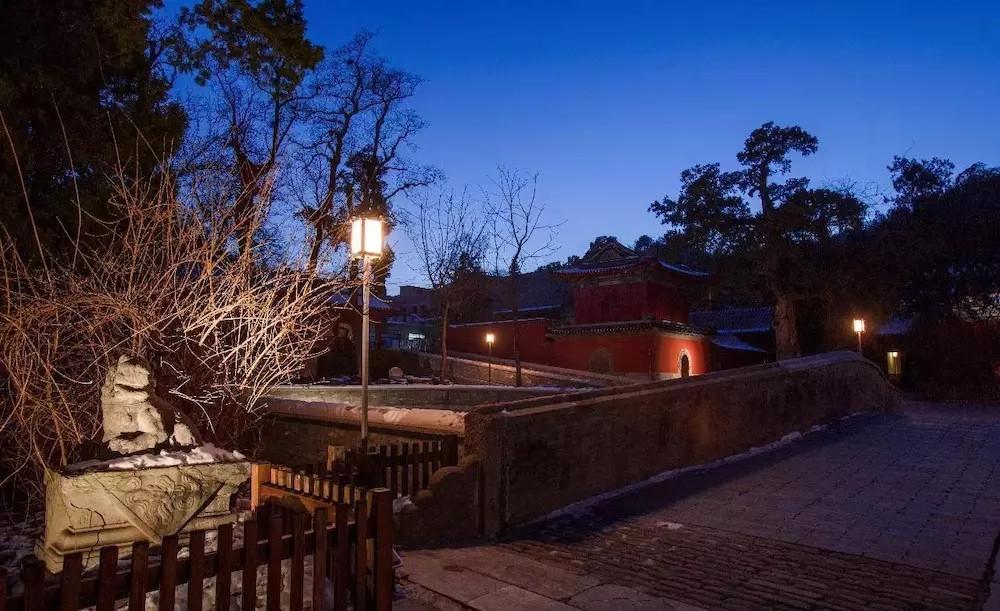 寺庙照明案例 西山大觉寺照明设计