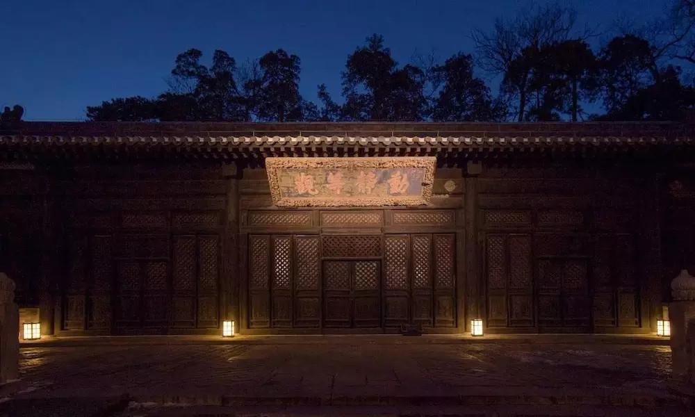 西山大覺寺照明設計案例中辰作品欣賞